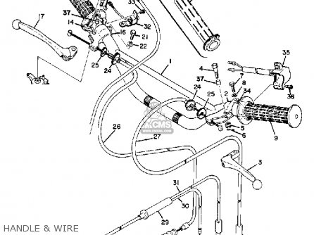 Yamaha At1m 1969 parts list partsmanual partsfiche