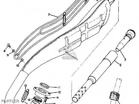Yamaha At1m 1969 parts list partsmanual partsfiche
