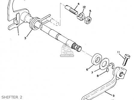 Yamaha AT1MX MOTOCROSS 1971 USA parts lists and schematics