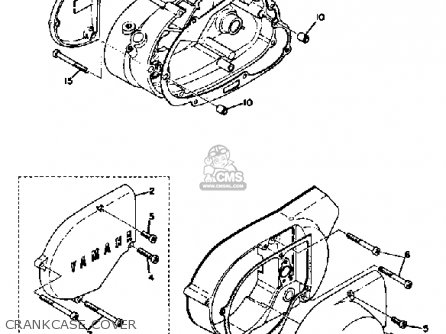 Yamaha AT2 1972 USA parts lists and schematics