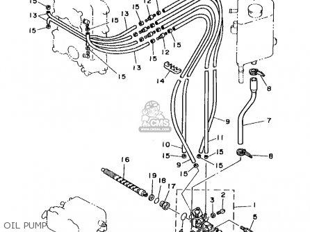 Yamaha B115tlrw 1998 parts list partsmanual partsfiche