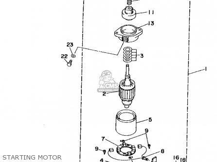 Yamaha B115TLRW 1998 parts lists and schematics