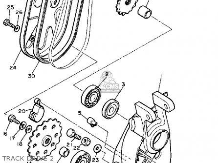 Yamaha Br250j Bravo 1985/1986 parts list partsmanual