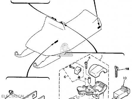Yamaha BR250K BRAVO 1985/1986 parts lists and schematics
