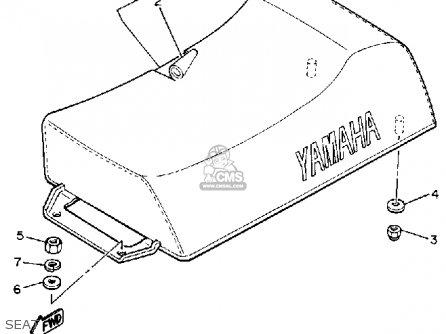 Yamaha Br250n Bravo 1989 parts list partsmanual partsfiche