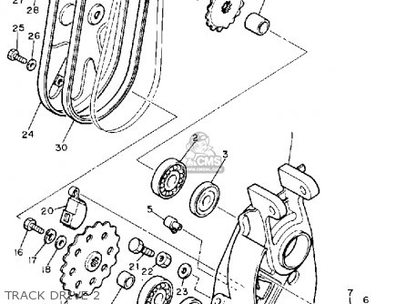 Yamaha BR250S BRAVO 1992 parts lists and schematics