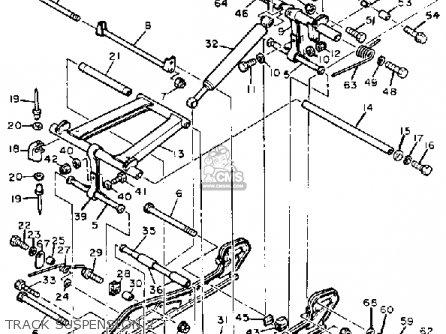 Yamaha BRAVO BR250H 1984 parts lists and schematics