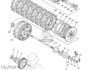 Yamaha BT1100 2002 5JN1 ITALY 1A5JN-332E2 parts lists and