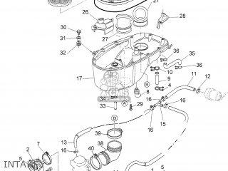 Yamaha BT1100 2006 5JN5 SWEDEN 1E5JN-332G1 parts lists and