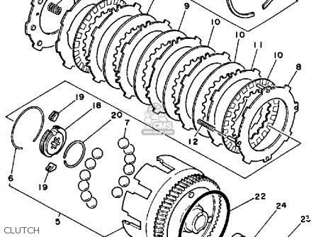 Yamaha BW80 BIG WHEEL 1986 (G) USA parts lists and schematics
