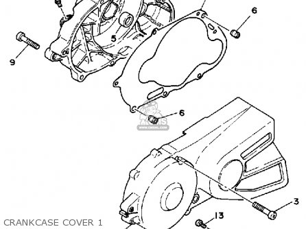 Yamaha Bw80 Big Wheel 1986 (g) Usa parts list partsmanual