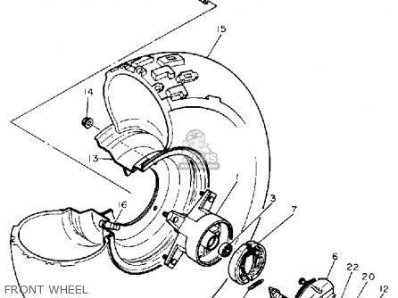 Yamaha BW80 BIG WHEEL 1990 (L) USA parts lists and schematics