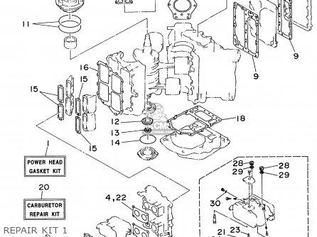 Yamaha C115trw 1998 parts list partsmanual partsfiche