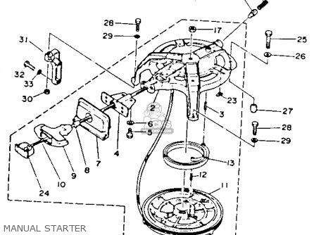 Yamaha T50 Parts Diagram