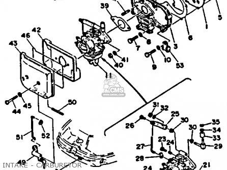 Yamaha C25ER(MH)R 1993 parts lists and schematics