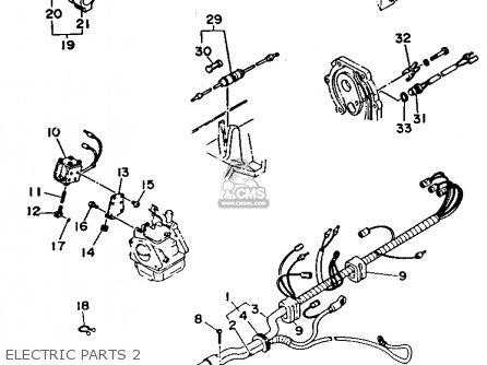 Yamaha C30err (c30elrr) 1993 parts list partsmanual partsfiche