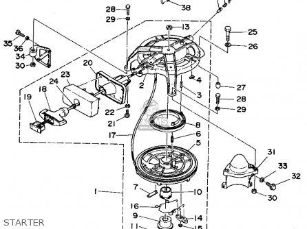Yamaha C40(mh/er/pr)s 1994 parts list partsmanual partsfiche