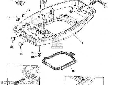 Yamaha C40/mhq/erq/prq 1992 parts list partsmanual partsfiche