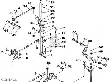 Yamaha C55(er/tr)t 1995 parts list partsmanual partsfiche