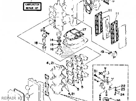 Yamaha C85TRP 1991 parts lists and schematics