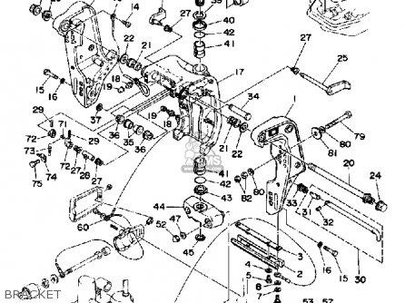 Yamaha C85trq 1992 parts list partsmanual partsfiche