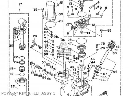 Yamaha C90TLRV 1997 parts lists and schematics
