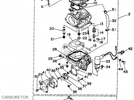 Yamaha C90trw 1998 parts list partsmanual partsfiche