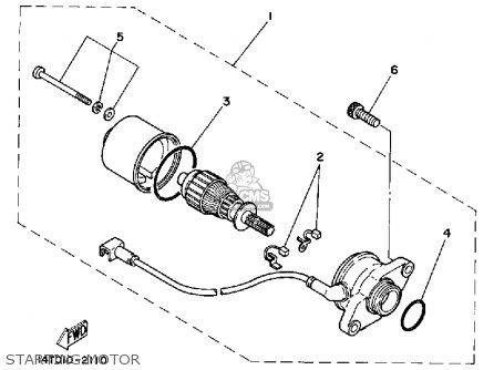 Yamaha CA50K 1983 RIVA parts lists and schematics