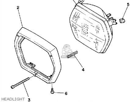 Yamaha CA50L 1984 RIVA parts lists and schematics
