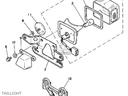 Yamaha CA50N 1985 RIVA parts lists and schematics