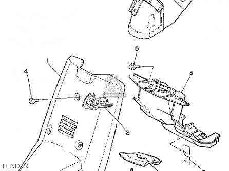 Yamaha CE50ES 1986 RIVA JOG parts lists and schematics