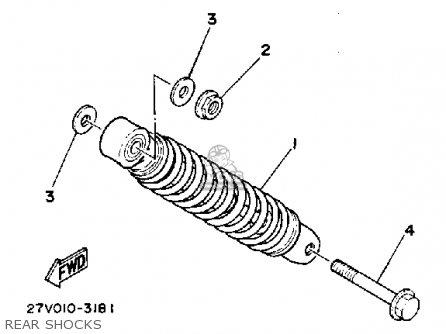 Yamaha Ce50es 1986 Riva Jog parts list partsmanual partsfiche