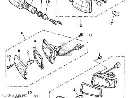 Yamaha Ce50et 1987 Riva Jog parts list partsmanual partsfiche