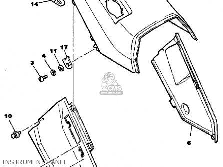Yamaha Cf300m Inviter 1988 parts list partsmanual partsfiche