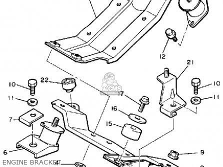 Yamaha Cf300n 1989 parts list partsmanual partsfiche