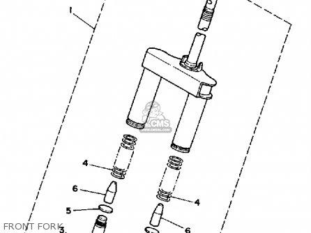 Yamaha Cg50w 1989 Jog Usa parts list partsmanual partsfiche