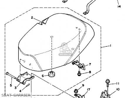 Yamaha CG50W 1989 JOG USA parts lists and schematics