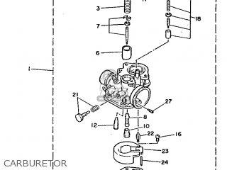 Yamaha Ch50 1989 3ec4 France 293ec-351fa parts list