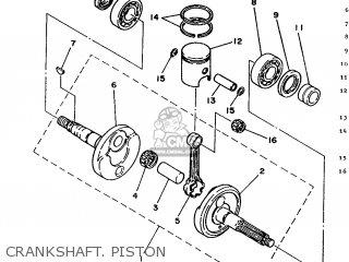 Yamaha CH50 1992 3EC8 FRANCE 223EC-351F1 parts lists and