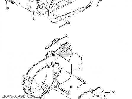 Yamaha Cs3b 1970 Usa parts list partsmanual partsfiche