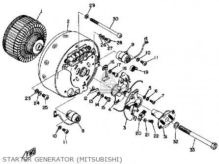 Yamaha Cs3c 1971 Usa parts list partsmanual partsfiche