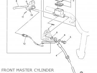 Yamaha CS50 2007 3D4C ENGLAND 1F3D4-310E1 parts lists and