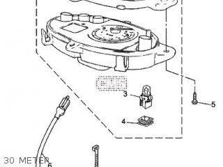Yamaha CS50Z 2009 3D4W EUROPE JOG RR 1H3D4-300E1 parts