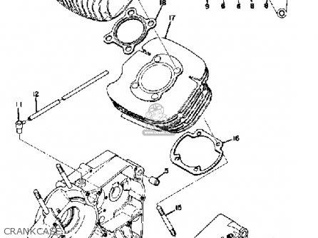 Yamaha Ct1 1969 parts list partsmanual partsfiche