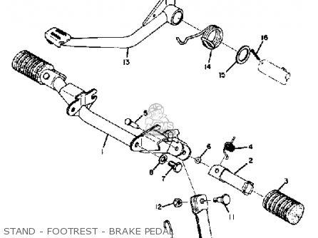 Yamaha Ct1 1969 Usa parts list partsmanual partsfiche