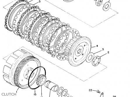 Yamaha Ct1b 1970 Usa parts list partsmanual partsfiche