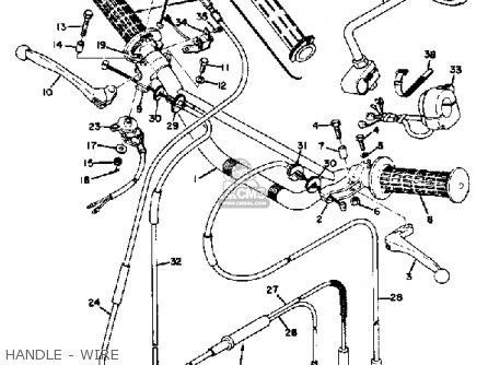 Yamaha CT2 1972 USA parts lists and schematics