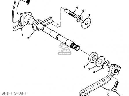 Yamaha Ct2 1972 Usa parts list partsmanual partsfiche