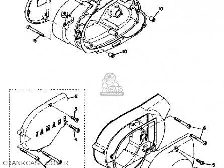 Yamaha Ct3 1972/1973 parts list partsmanual partsfiche
