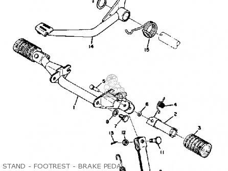 Yamaha CT3 1973 USA parts lists and schematics